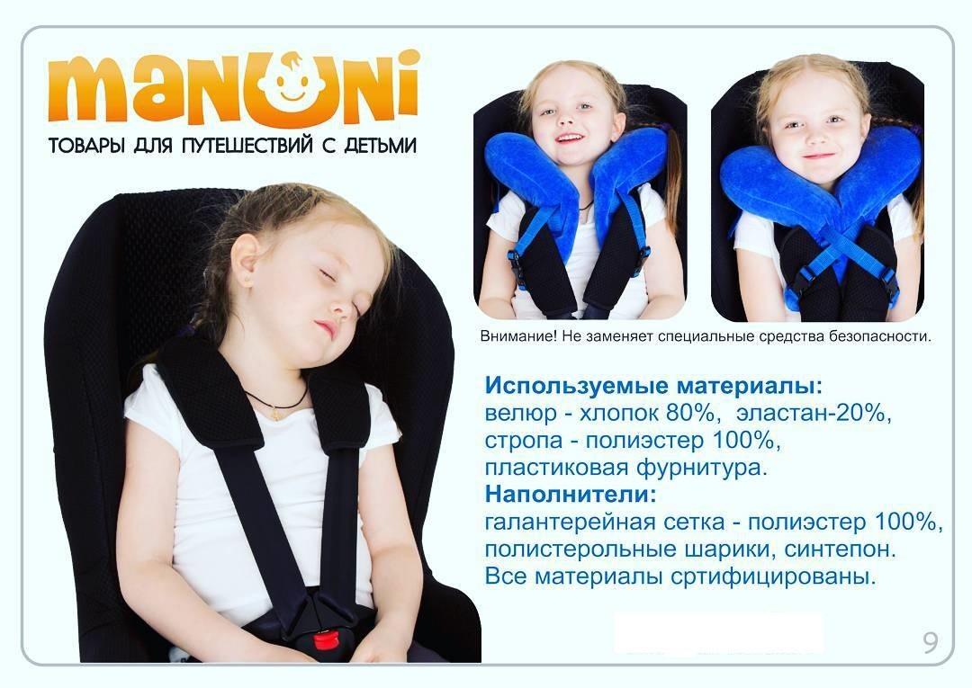 Анатомическая подушка для детей