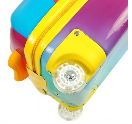 """Bouncie чемодан на колесах с телескопической ручкой  Rainbow Misty 16""""MT-S3"""