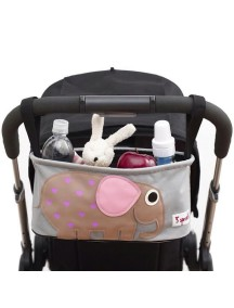 Подвесная сумочка-органайзер «Слон» для коляски от 3Sprouts
