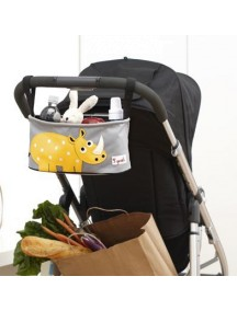 Подвесная сумочка-органайзер «Носорог» для коляски от 3Sprouts