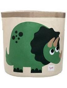 "Корзина для хранения 3 Sprouts ""Динозаврик"" (Green Dinosaur)"
