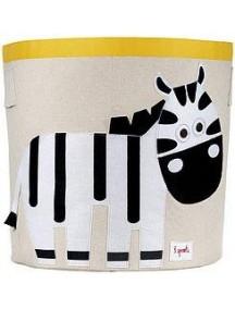 """Корзина для хранения 3 Sprouts """"Зебра"""" (Black&White Zebra)"""