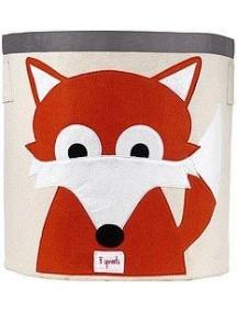 "Корзина для хранения 3 Sprouts ""Лисичка"" (Orange Fox)"