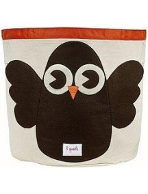 "Корзина для хранения 3 Sprouts ""Сова"" (Brown Owl)"