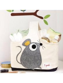 Cумочка для детских принадлежностей 3 Sprouts «Мышонок»