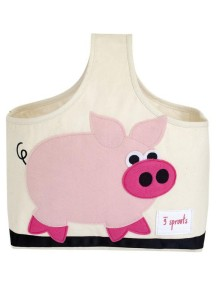 Cумочка для детских принадлежностей 3 Sprouts «Свинка»
