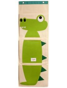 Органайзер на стену 3 Sprouts «Крокодил»