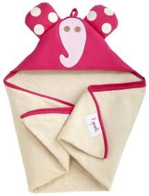 Полотенце с капюшоном детское 3 Sprouts «Слонёнок»