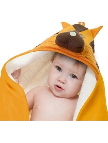 Полотенце с капюшоном детское 3 Sprouts «Тигр»