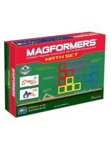 """Магнитный конструктор MAGFORMERS 63109 """"Набор Увлекательная Математика"""" (учебное пособие в комплекте)"""