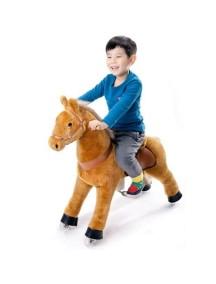 Поницикл Лошадка светло-коричневая средний (4-9 лет)