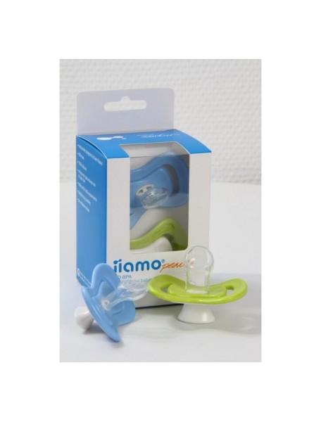 Пустышка силиконовая iiamo ортодонтическая