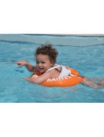 Надувной круг для плавания SwimTrainer Оранжевый от  2 лет до 6 (15-30 кг) Swim Academy Freds