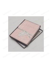 "Плед для ребенка 76х107 см MYB / ""Bunny Squares"", Розовый"