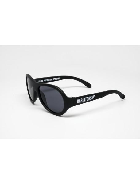 Солнечные очки Babiators Black Ops (Бэбиаторс Спецназ) черные. 3-7 лет