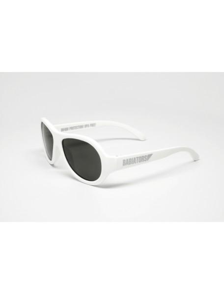 Солнечные очки Babiators Wicked (Бэбиаторс Шалун) белые. 3-7 лет