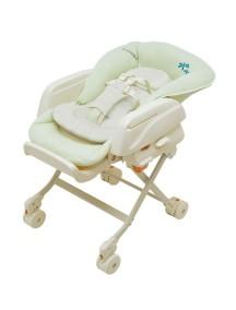 Многофункциональная люлька-стульчик COMBI - ручного укачивания, Rashule (от рождения до 4 лет)  Mint Green/ Фисташка