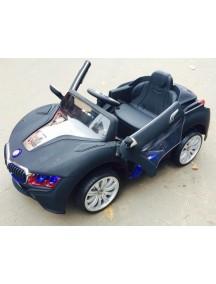 Детский электромобиль BMW E111KX-VIP (черный-матовый)