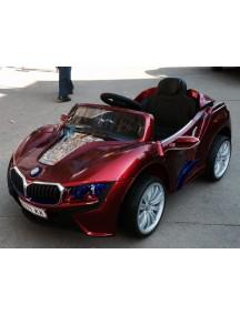 Детский электромобиль BMW E111KX-VIP (вишневый металлик) Rivertoys