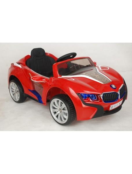 Детский электромобиль BMW E111KX (красный)