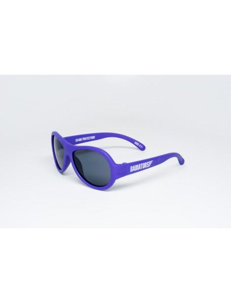 Солнечные очки Babiators Pilot (Бэбиаторс Пилот) фиолетовые. 3-7 лет