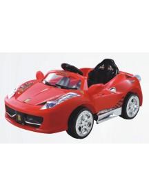 Детский электромобиль Ferrari 8888 (красный) Rivertoys