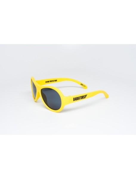 Солнечные очки Babiators Hello! (Бэбиаторс Привет!) желтые. 0-3 года