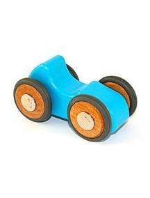 Деревянная машинка магнитная. Riley roadster. Blue