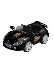 Детский электромобиль Porshe Е222КХ (черный) Rivertoys