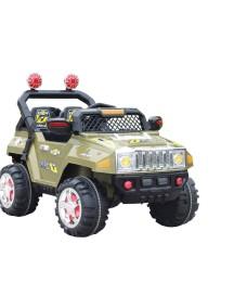 Детский электромобиль HUMMER Е444КХ (зелёный) Rivertoys