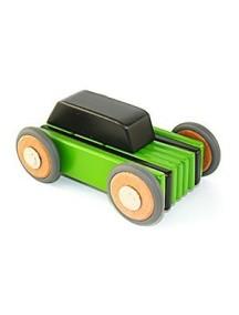 Деревянная машинка магнитная составная. Hatch. Green