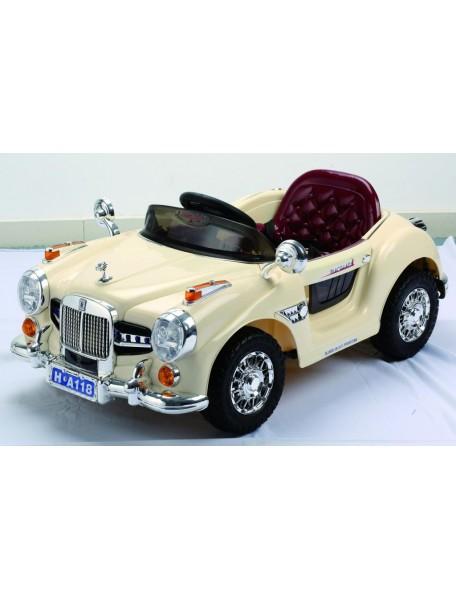 Детский электромобиль Retro A118 (белый)