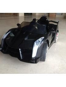 Детский электромобиль Lambo 588 (чёрный) Rivertoys