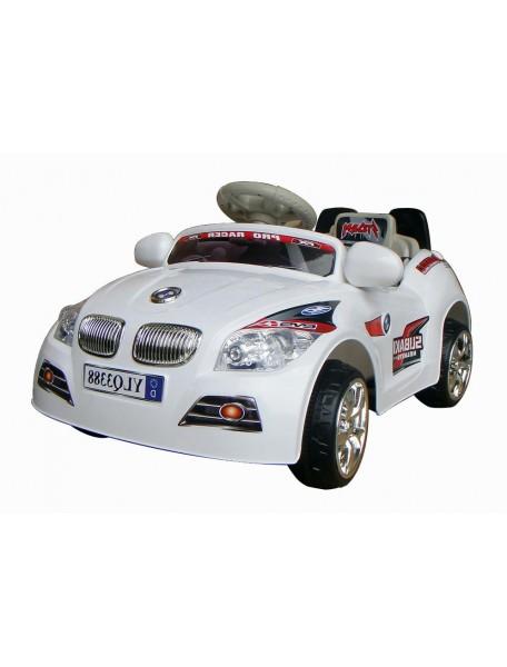 Детский электромобиль BMW 3388 (белый)