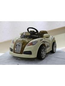 Детский электромобиль Bugatti HL 938 (коричневый) Rivertoys