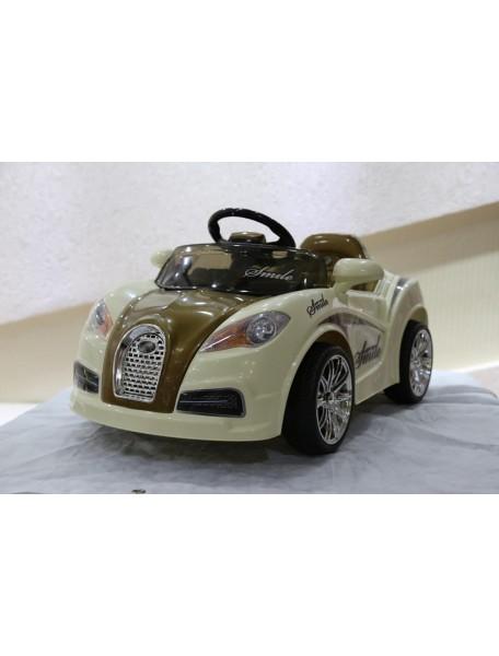 Детский электромобиль Bugatti HL 938 (коричневый)