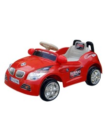 Детский электромобиль BMW 3388 (красный) Rivertoys