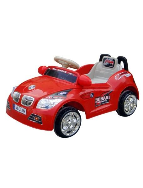 Детский электромобиль BMW 3388 (красный)