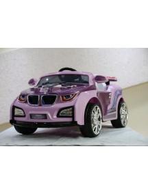 Детский электромобиль BMW HL 518 (сиреневый) Rivertoys