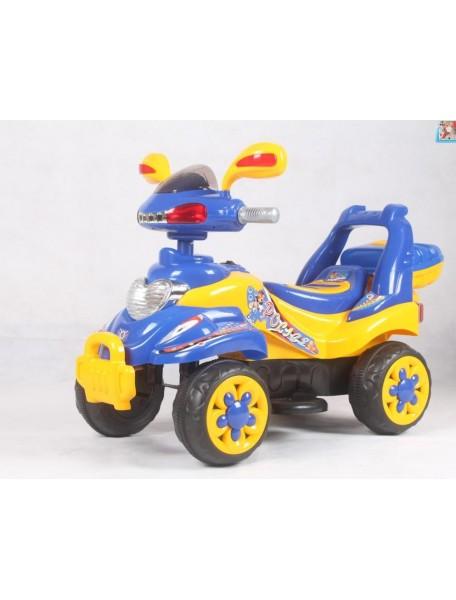 Детский электроквадроцикл QUATRO 258A (жёлтый)