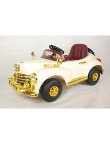 Детский электромобиль Bentley E999КХ (беж/золото) Rivertoys