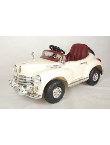 Детский электромобиль Bentley E999КХ (беж/хром) Rivertoys