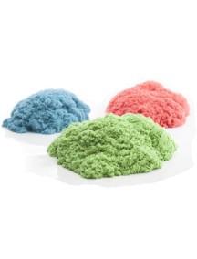 Песок WABA FUN 150-308 Kinetic Sand 3 цвета (синий, зеленый, красный по 1 кг)