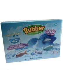 Масса для лепки WABA FUN 140-605 Bubber 1200 гр. (синий)
