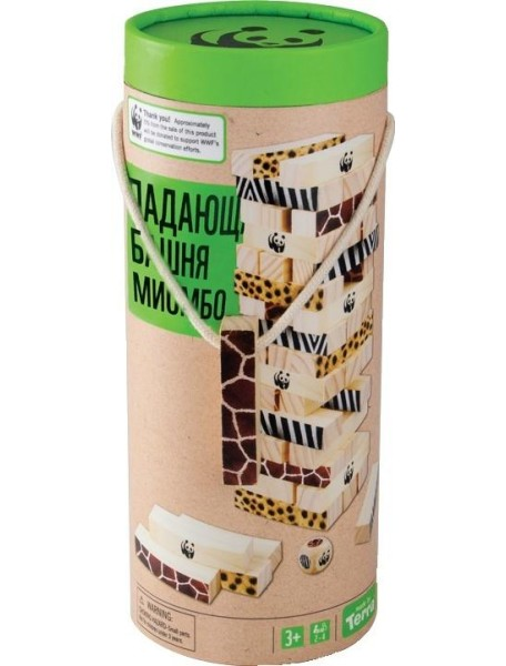 "WWF WWF985 Игра ""Падающая башня миомбо"""