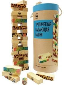 """WWF WWF985MS Игра """"Тропическая падающая башня"""""""
