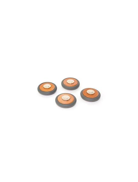 Колеса деревянные магнитные