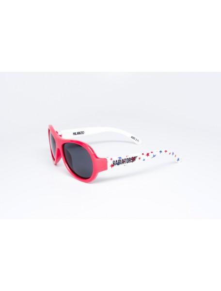 Поляризационные солнечные очки Babiators Lucky Stars (Бэбиаторс Звёздочки удачи). 3-7 лет