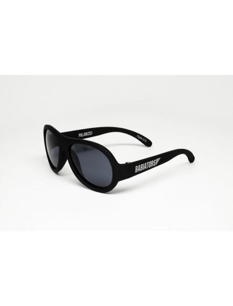 Поляризационные солнечные очки Babiators Black Ops (Бэбиаторс Спецназ ). 3-7 лет