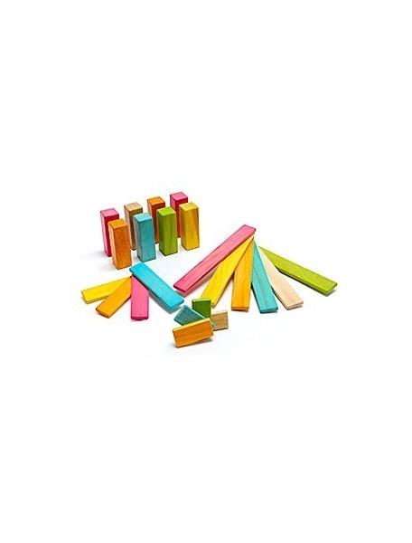 Набор Первооткрыватель. 22 магнитных блока Tegu. Серия Tints